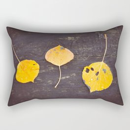 Leaves Trio Rectangular Pillow