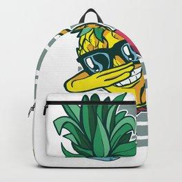 Dabbing Pineapple Fruit Lover Backpack
