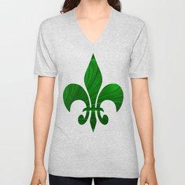 Renaissance Green Unisex V-Neck