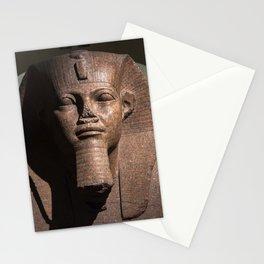 Tutankhamun - Egyptian Statue (c) Stationery Cards