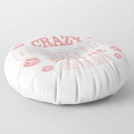 I'm That Crazy Grandma Floor Pillow