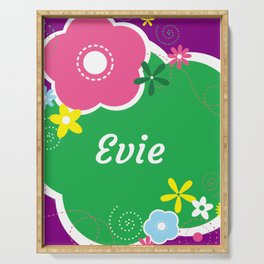 Evie:  Personalized Gifts for Girls and Women Serving Tray