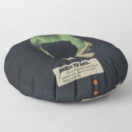 Dress To Kill Floor Pillow