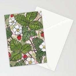 Wild Strawberries Stationery Cards