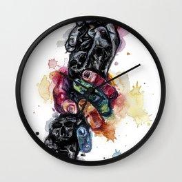 Depressed mood Wall Clock