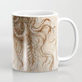 Leonardo da Vinci - Head of Leda Coffee Mug