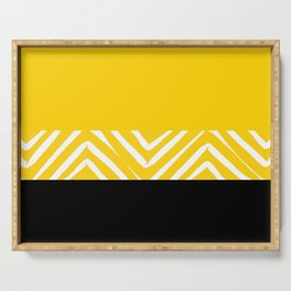 YELLOW DUO Serving Tray