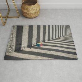 Rubik shading stripes Rug
