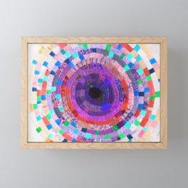 Eternity Spiral - Violet Variation Framed Mini Art Print
