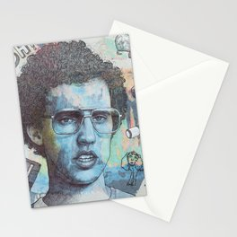 Napoleon Dynamite - Probably The Best Drawing I've Ever Done Stationery Cards