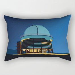 Soviet Modernism: Byurakan Observatory after Viktor Hambardzumyan Rectangular Pillow