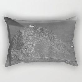 California Farallon Island NARA 23934321 Rectangular Pillow