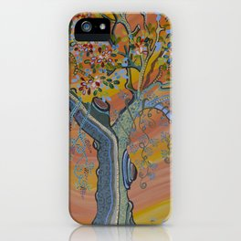 """Deciduous in Bloom"" by ICA PAVON iPhone Case"