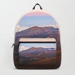 Sunset at Haleakala Volcano - Hawaii Digital Photo Art Backpack