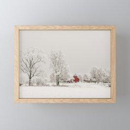 Winter Wonderland Framed Mini Art Print