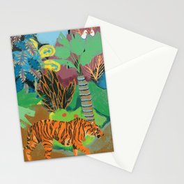 Tiger in the Jungle Stationery Cards