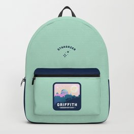 Griffith Observatory Badge in Seafoam Green Backpack