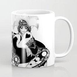 Black and White Minstrels. Digital Artwork. Figures. Coffee Mug