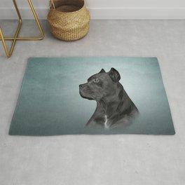 Drawing dog Cane Corso - Italian Mastiff Rug