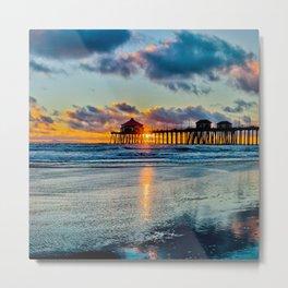 Surf City Sunset  11/15/15   Metal Print