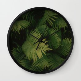 Nature Leaves Wall Clock