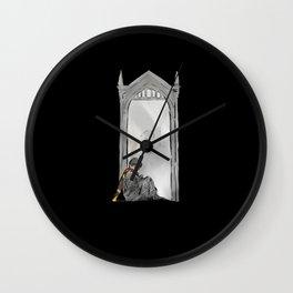 Mirror of Erise black Wall Clock