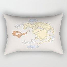 The Lay of the Land Rectangular Pillow