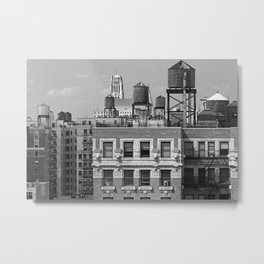 New York City Rooftops Metal Print
