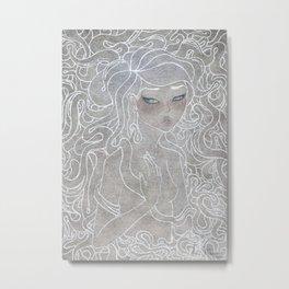 Young Medusa Metal Print