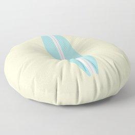 #91 Surfboard Floor Pillow