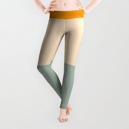 Heracles - Minimal Summer Retro Stripes Leggings