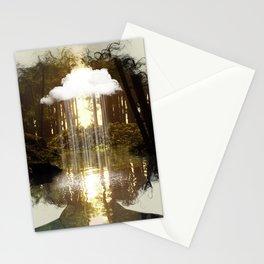 Brain Rain Stationery Cards