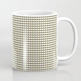 Making Marks Dots Mustard/Navy/White Coffee Mug