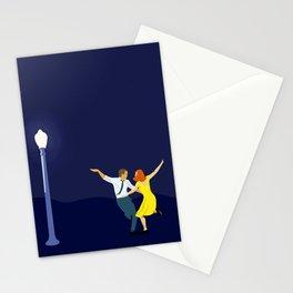 La La Land - Dancing Couple in Lamplight Stationery Cards