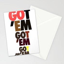 GOT EM AJ1 Stationery Cards