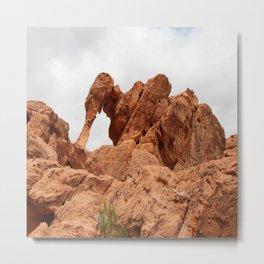 Elephant Rock Metal Print