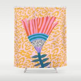 Radicallia Flower Shower Curtain