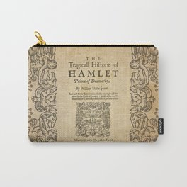Shakespeare, Hamlet 1603 Carry-All Pouch