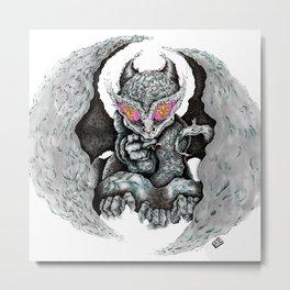 Gail- Air Dragon Metal Print