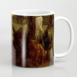 "Jean-François Millet ""Study for 'Mercury Leading the Cows of Argus to Water'"" Coffee Mug"