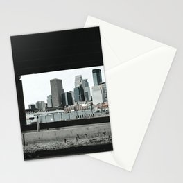 Minneapolis Skyline Views Stationery Cards