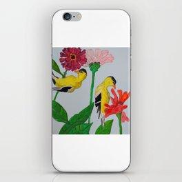 in the garden iPhone Skin
