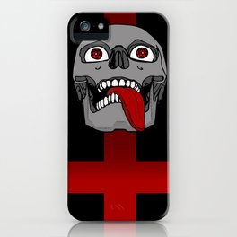 Impale the Falsely Righteous iPhone Case
