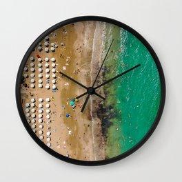 Coral Split Wall Clock
