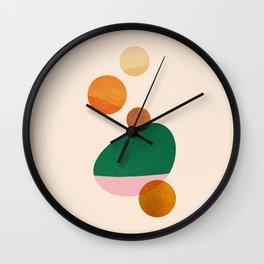 Abstraction_ROCK_PLANET_POP_ART_Minimalism_0083A Wall Clock