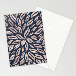 Sunburst Glam #3 #rosegold #decor #art #society6 Stationery Cards