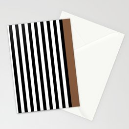 Liquorice allsorts, brown Stationery Cards