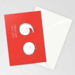 positive punctuation Stationery Cards