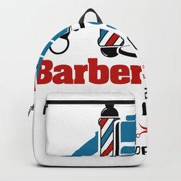 Barber Shop Sign Backpack