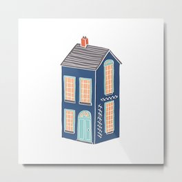Little Townhouse Metal Print